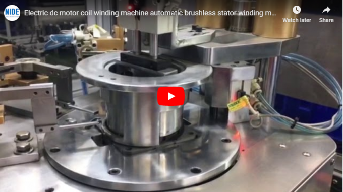 automatic stator winding machine for brushless dc motor